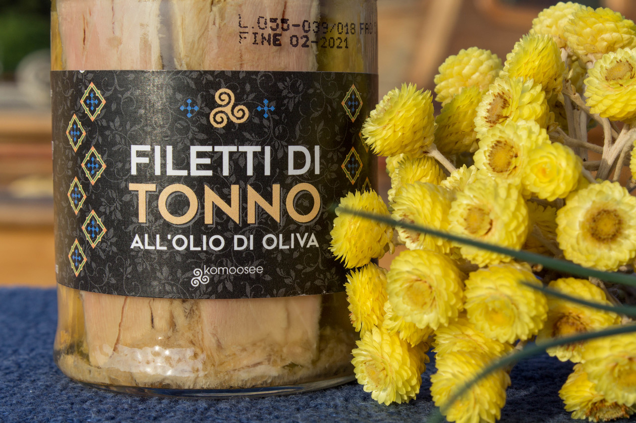 Filetti di tonno all'olio di oliva
