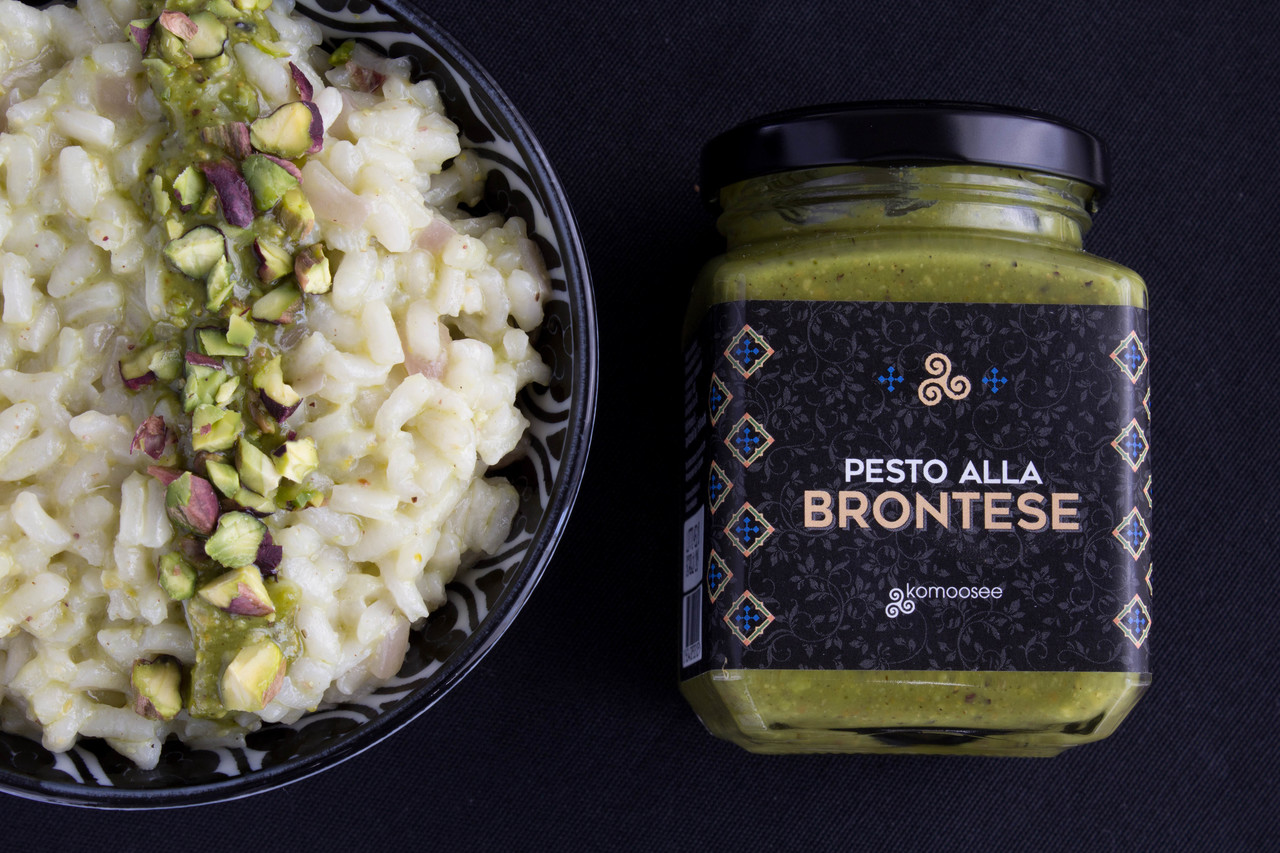 Pesto alla brontese 80%