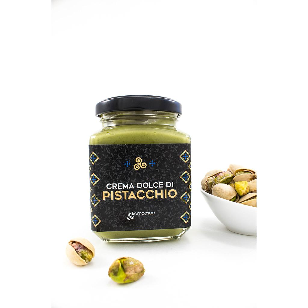 La favolosa di Bacco, sweet cream of 40% pistachio