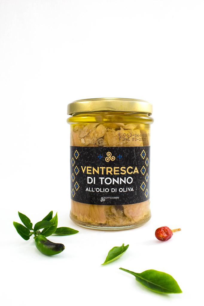Ventresca tuna in olive oil