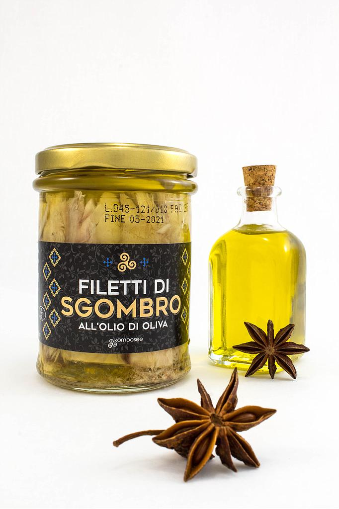 Filetti di sgombro all'olio di oliva